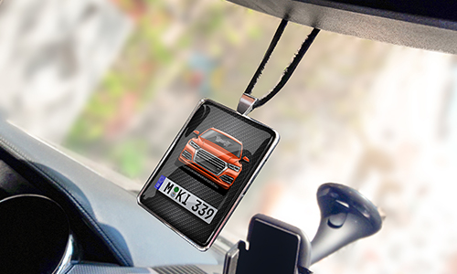 REAR VIEW MIRROR PENDANT WIDE