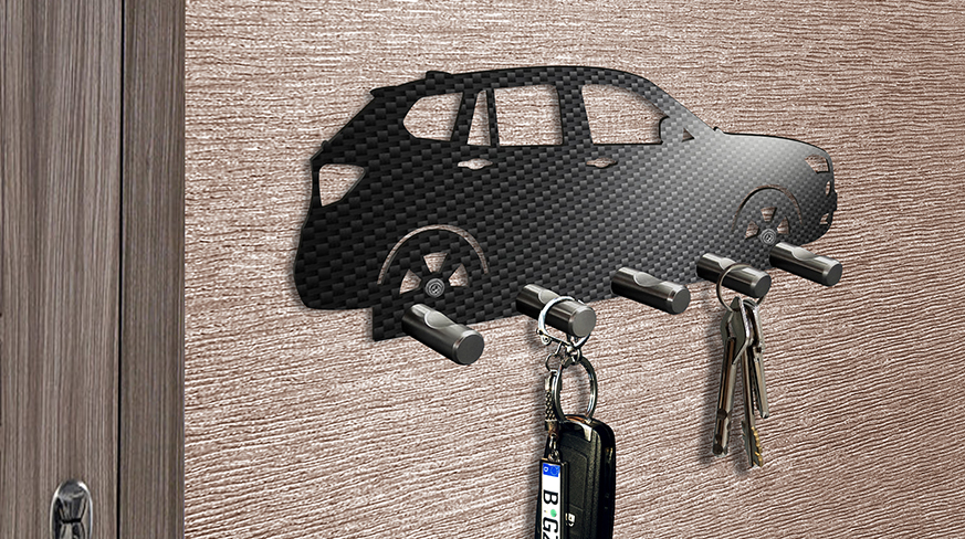 Key Board Car Carbon