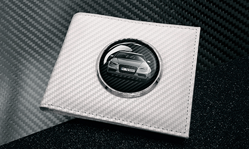 White Carbon Wallet