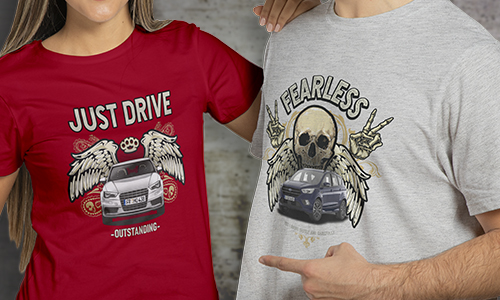 T-shirt Car Design