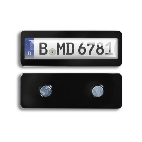 Magnet - License Plate