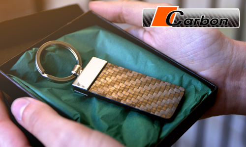 Luxury Carbon Keychain